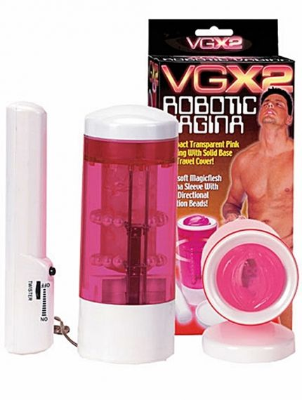 Мастурбатор - New Clear Rotating Vagina Masturbator