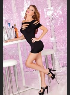 Рокля - Cut it out seamless mini-dress